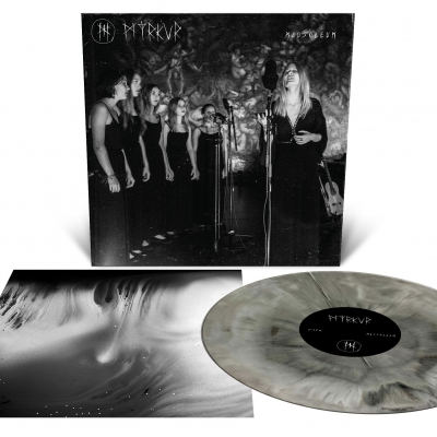 IMAGE | Mausoleum LP (Black and White Galaxy Merge)