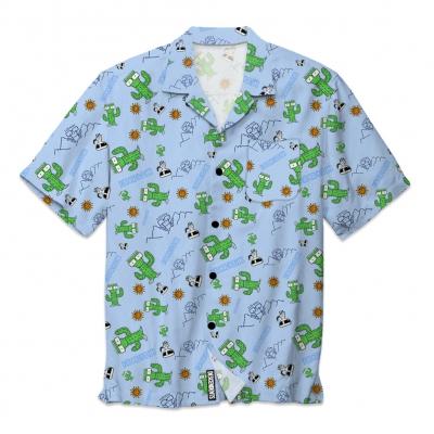 IMAGE | Milo Desert Button Up Shirt (Baby Blue)