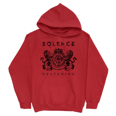 IMAGE   Emblem Pullover Hoodie (Red)