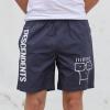 IMAGE   Milo Beach Shorts (Petrol Blue) - detail 3