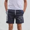 IMAGE   Milo Beach Shorts (Petrol Blue) - detail 2