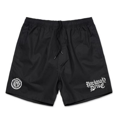 IMAGE | Fire Logo Beach Shorts (Black)