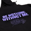 IMAGE   Be Nothing Without Me Zip Up Hoodie (Black) - detail 3