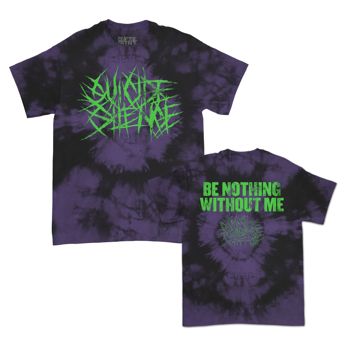 IMAGE   Be Nothing Without Me T-Shirt (Purple Dye)