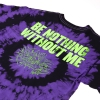 IMAGE   Be Nothing Without Me T-Shirt (Purple Dye) - detail 3