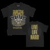 IMAGE | Live Life Hard T-Shirt (Black) - detail 1