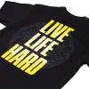 IMAGE | Live Life Hard T-Shirt (Black) - detail 3