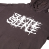 IMAGE   Logo Pullover Hoodie (Pigment Dyed Black) - detail 2