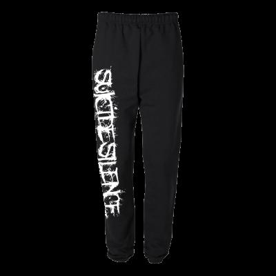 IMAGE   Logo Sweatpants (Black)