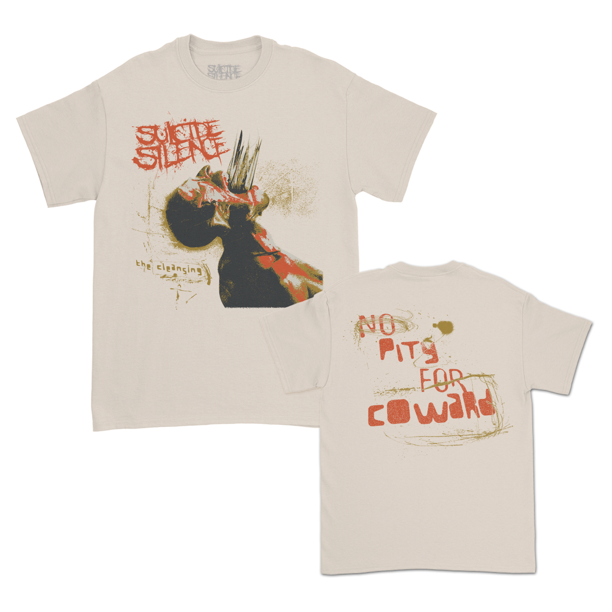 IMAGE   No Pity For A Coward T-Shirt (Sand)