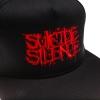 IMAGE | Red Logo Embroidered Snapback (Black) - detail 2