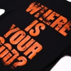 IMAGE   Where Is Your God? T-Shirt (Black) - detail 3