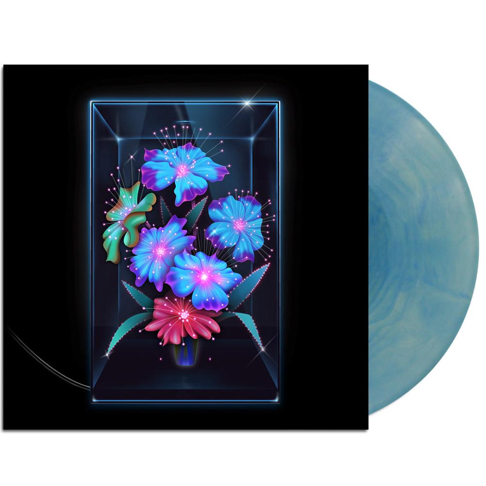 IMAGE | Una Rosa LP (Blue Seafoam Wave)