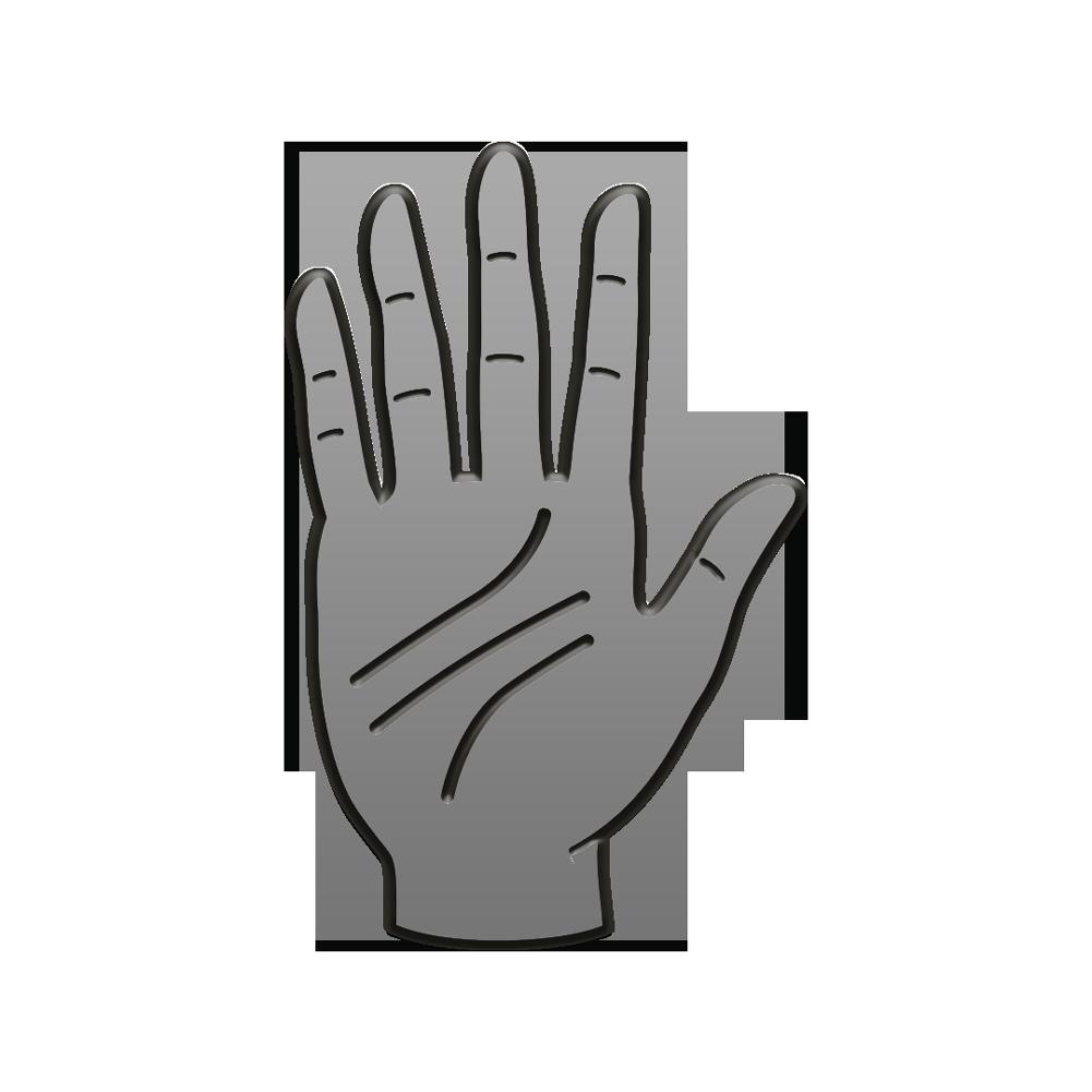 IMAGE | Palms Logo Enamel Pin