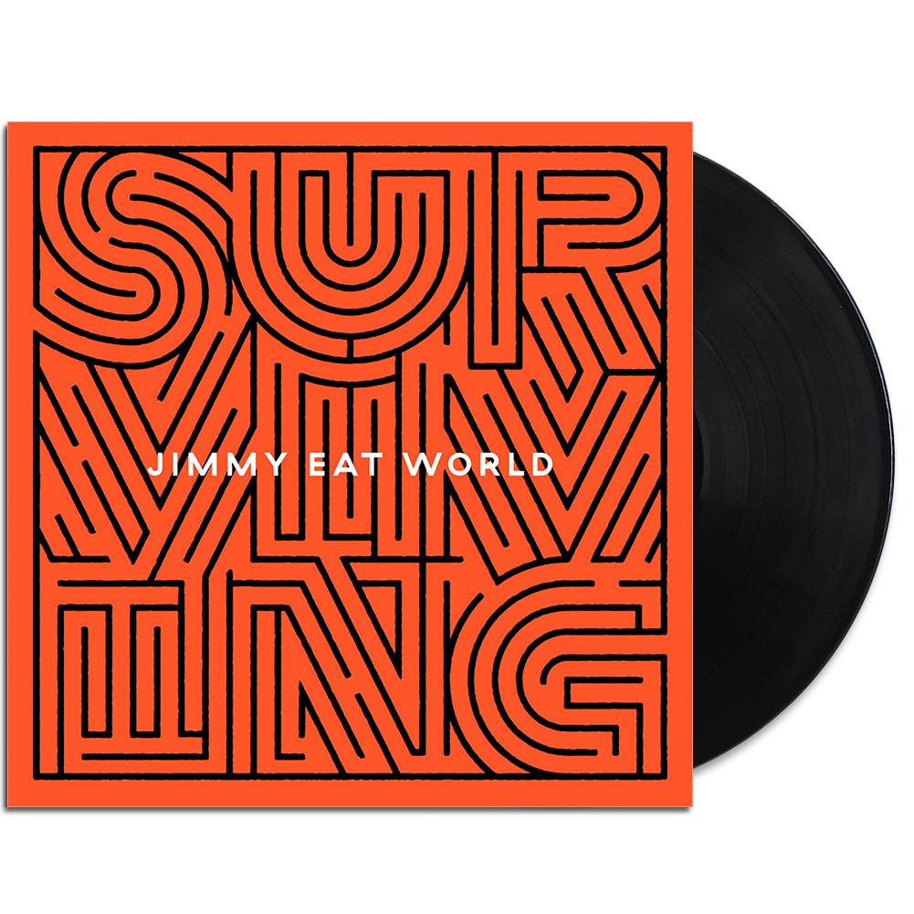 IMAGE   Surviving LP (Black)