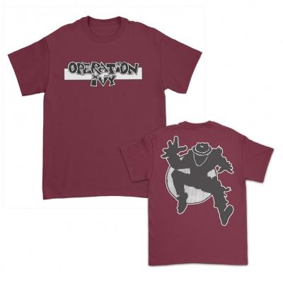 IMAGE | Logo Skank Man T-Shirt (Burgundy)