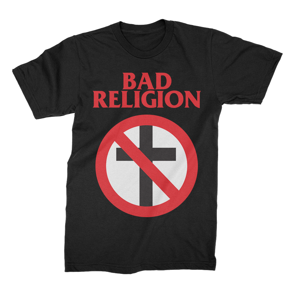IMAGE   Bad Religion Classic Crossbuster Tee (Black)