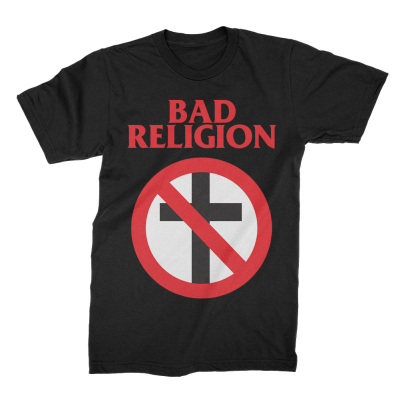 IMAGE | Bad Religion Classic Crossbuster Tee (Black)