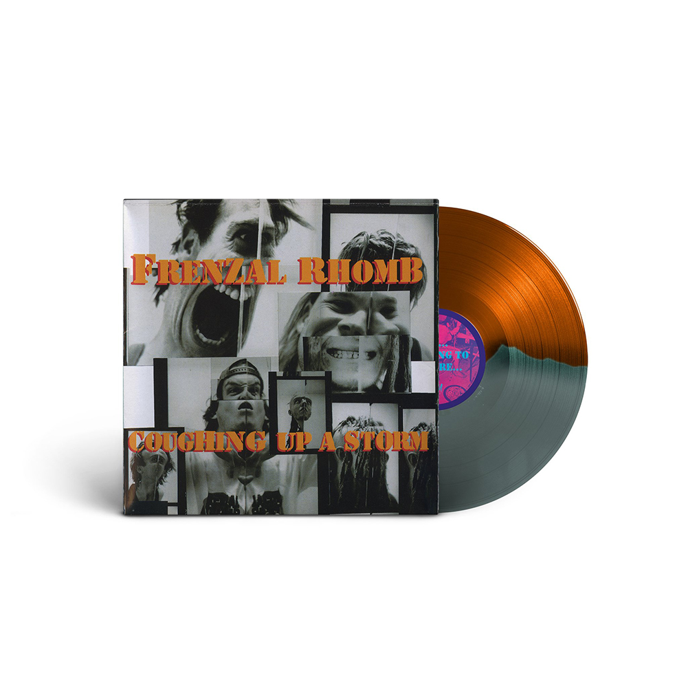 IMAGE   Coughing Up A Storm LP (Gold/Grey)