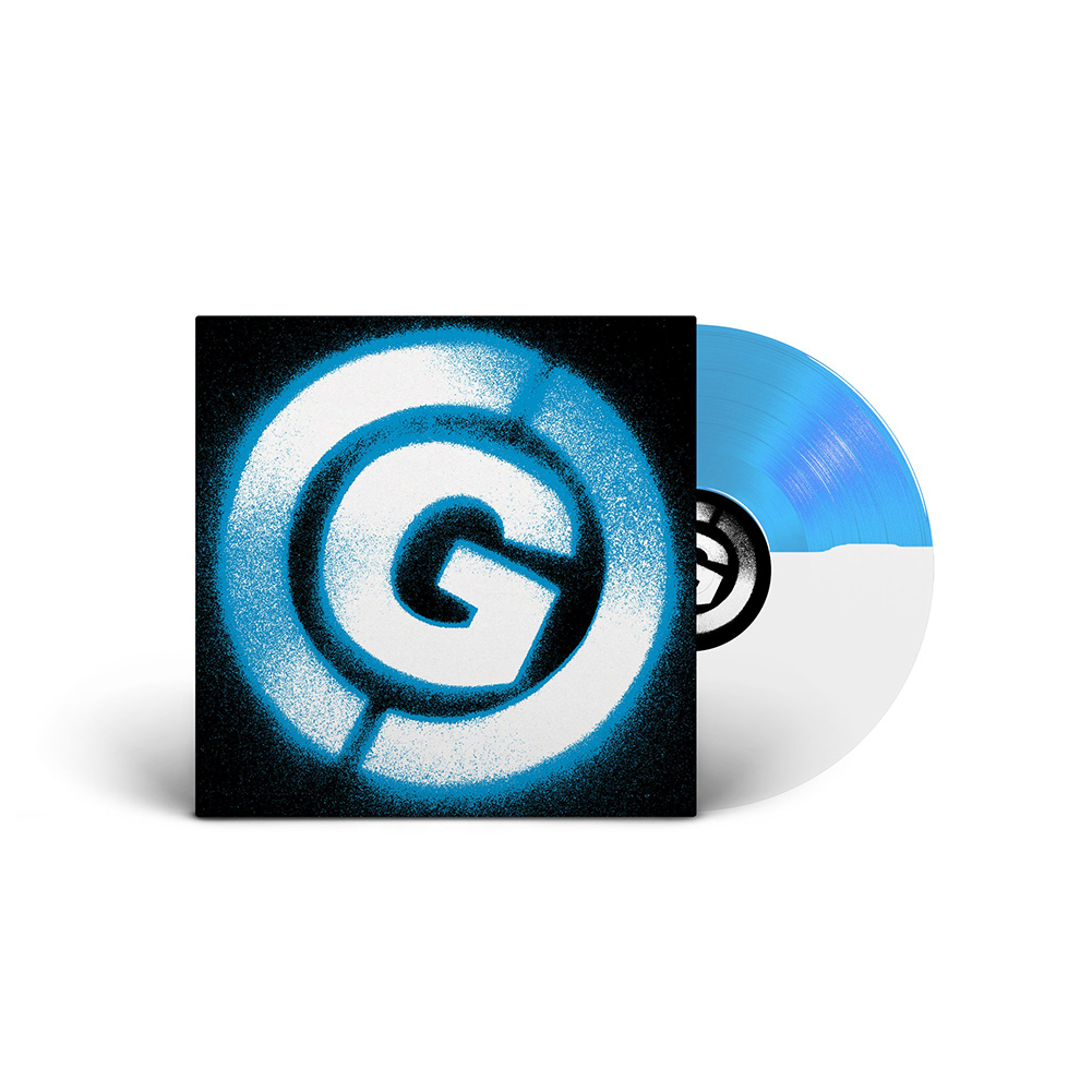 IMAGE   Covered With Ants LP (Blue/White)