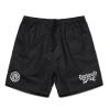 IMAGE   Fire Logo Beach Shorts (Black) - detail 1