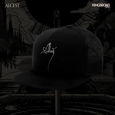 IMAGE   Flower Logo Trucker Hat (Black)