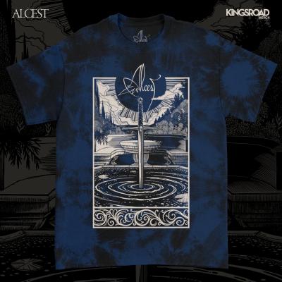 IMAGE   Spiritual Logo Tie Dye T-Shirt (Navy)