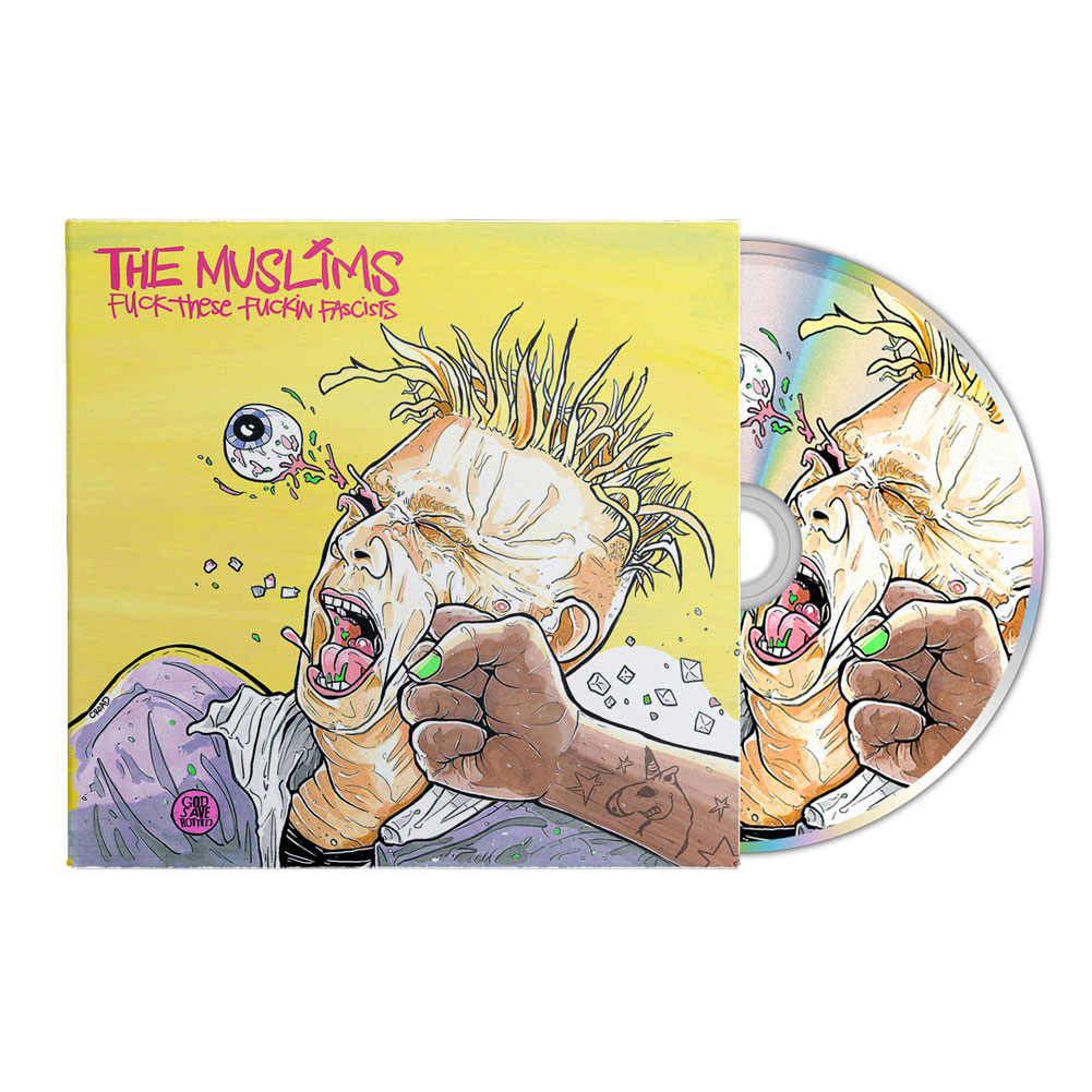 IMAGE | Fuck These Fuckin Fascists CD