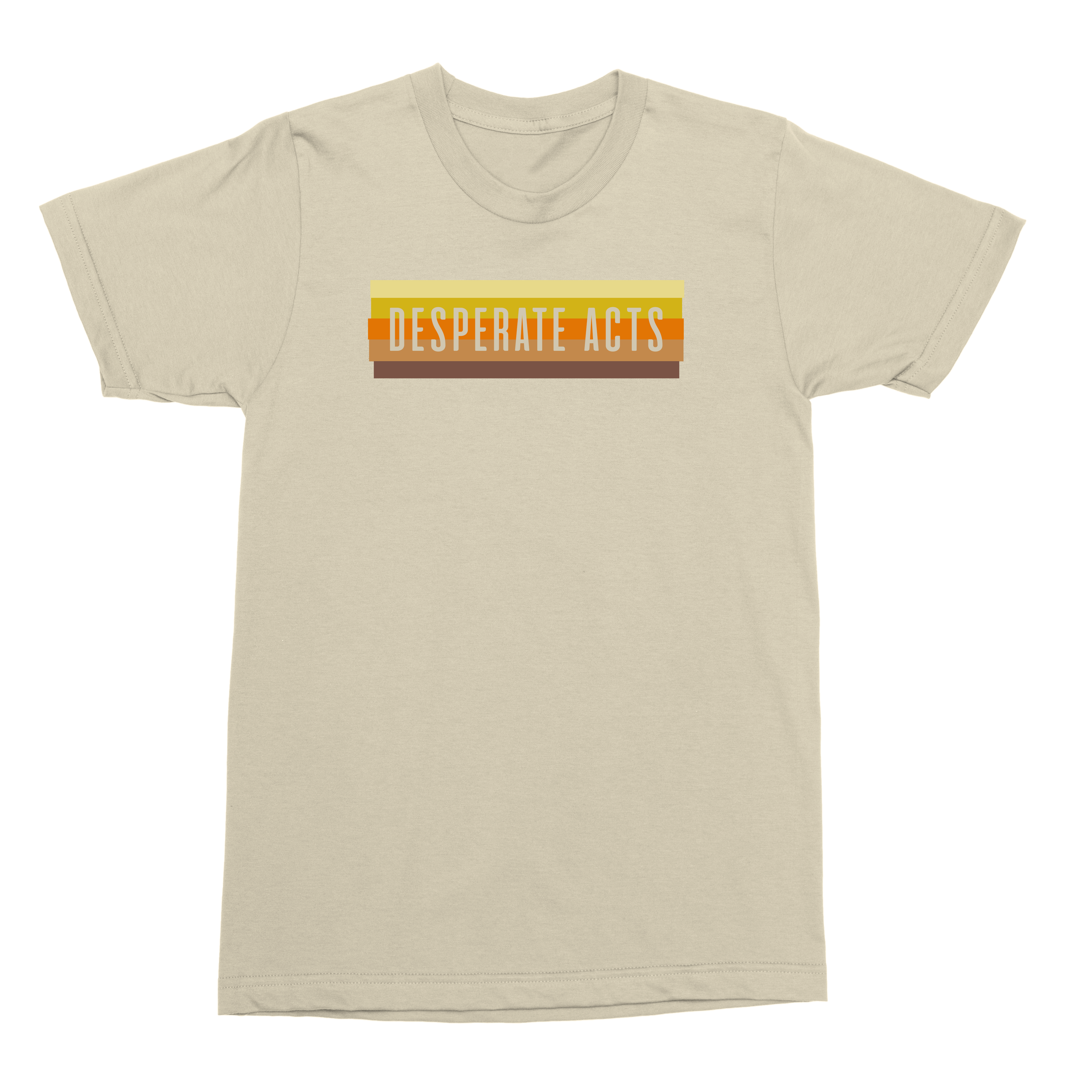 IMAGE   Desperate Acts Wall Fade Tee (Natural)