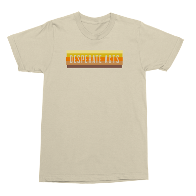 IMAGE | Desperate Acts Wall Fade Tee (Natural)