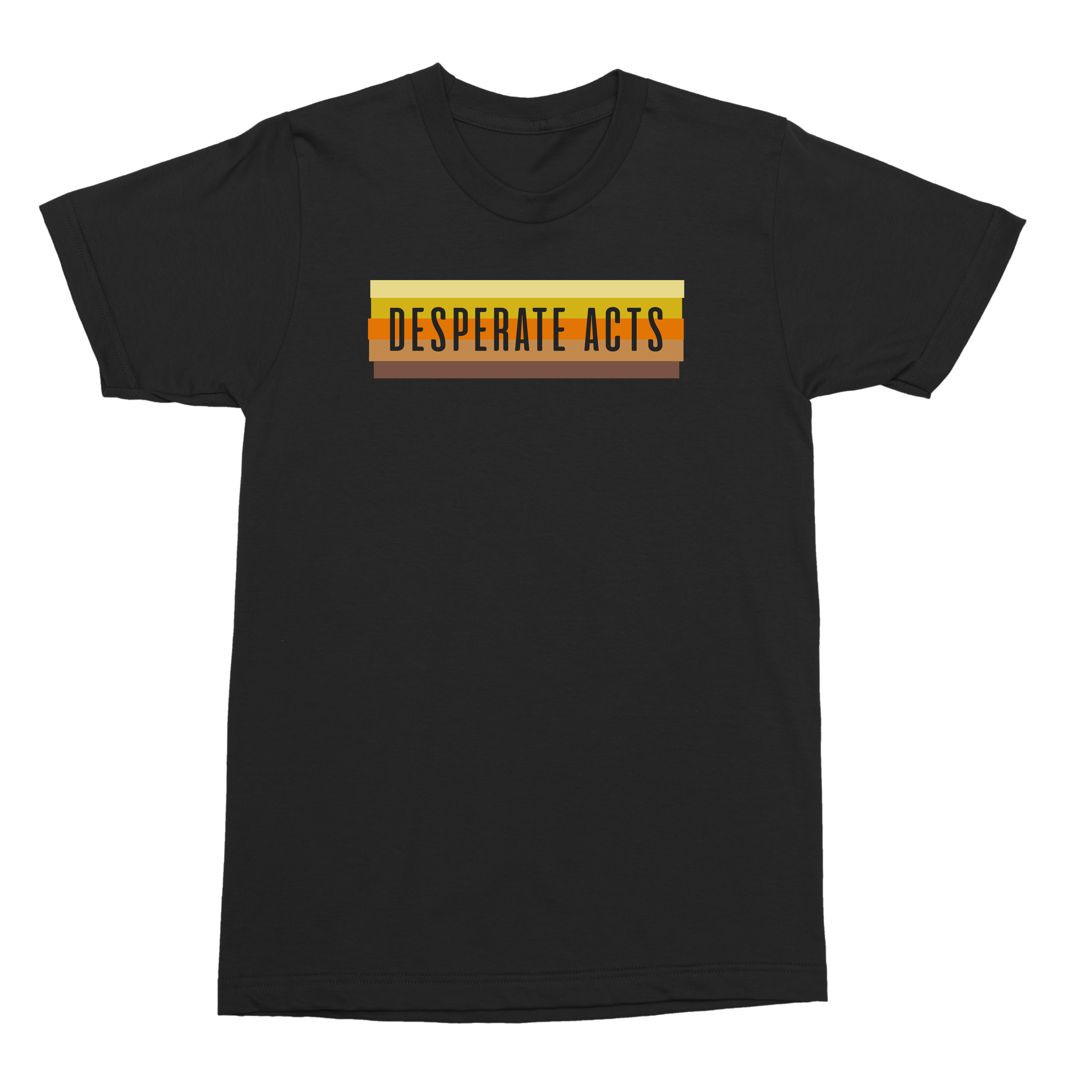 IMAGE   Desperate Acts Wall Fade Tee (Black)