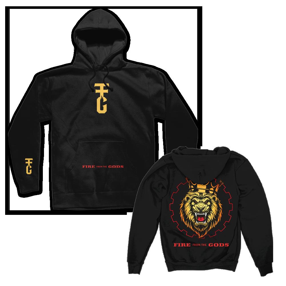 IMAGE   Lion Pullover Hoodie (Black)