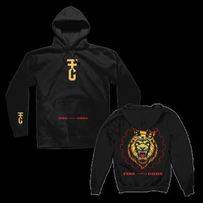 IMAGE | Lion Pullover Hoodie (Black)