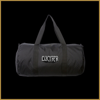 IMAGE   Logo Duffle Bag (Black)