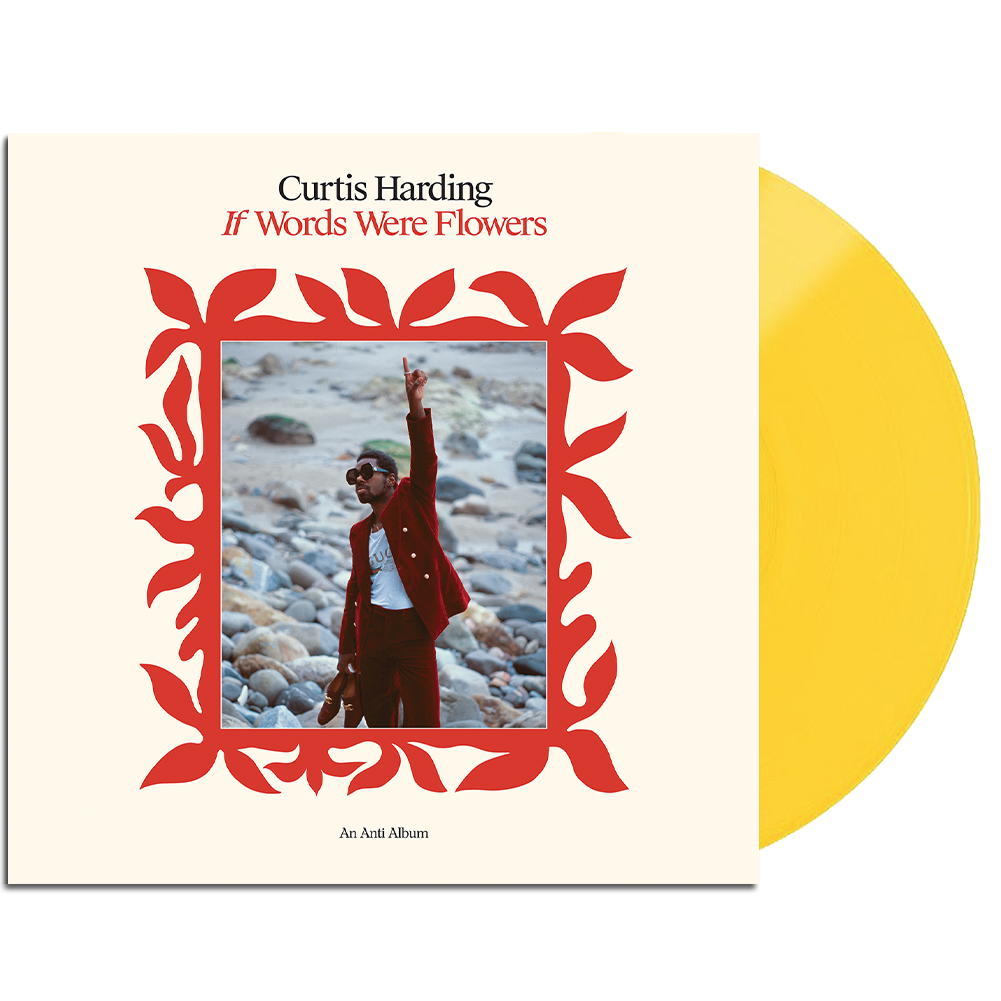 IMAGE   If Words Were Flowers LP (Yellow) & Signed Print
