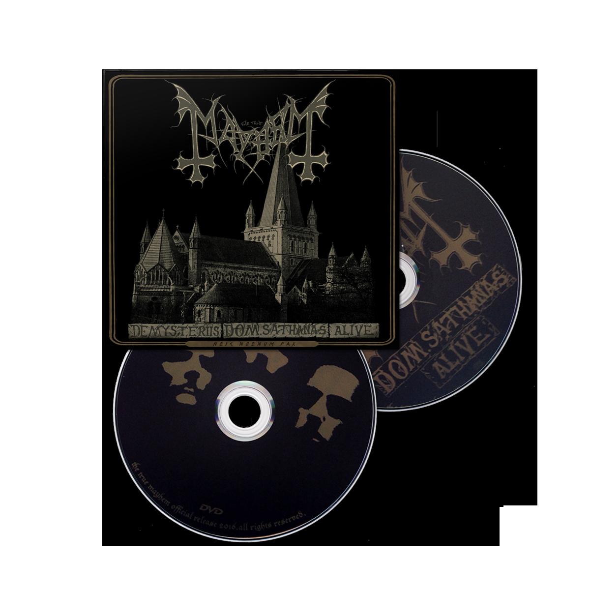 IMAGE | De Mysteriis Dom Sathanas Alive CD/DVD