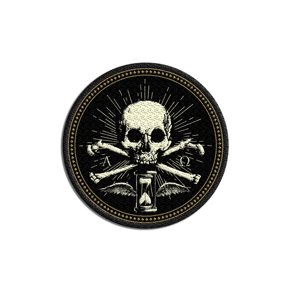 IMAGE | Daemon Skull Embroidered Patch
