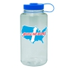 IMAGE | Across America 32oz Nalgene Water Bottle (Seafoam) - detail 1