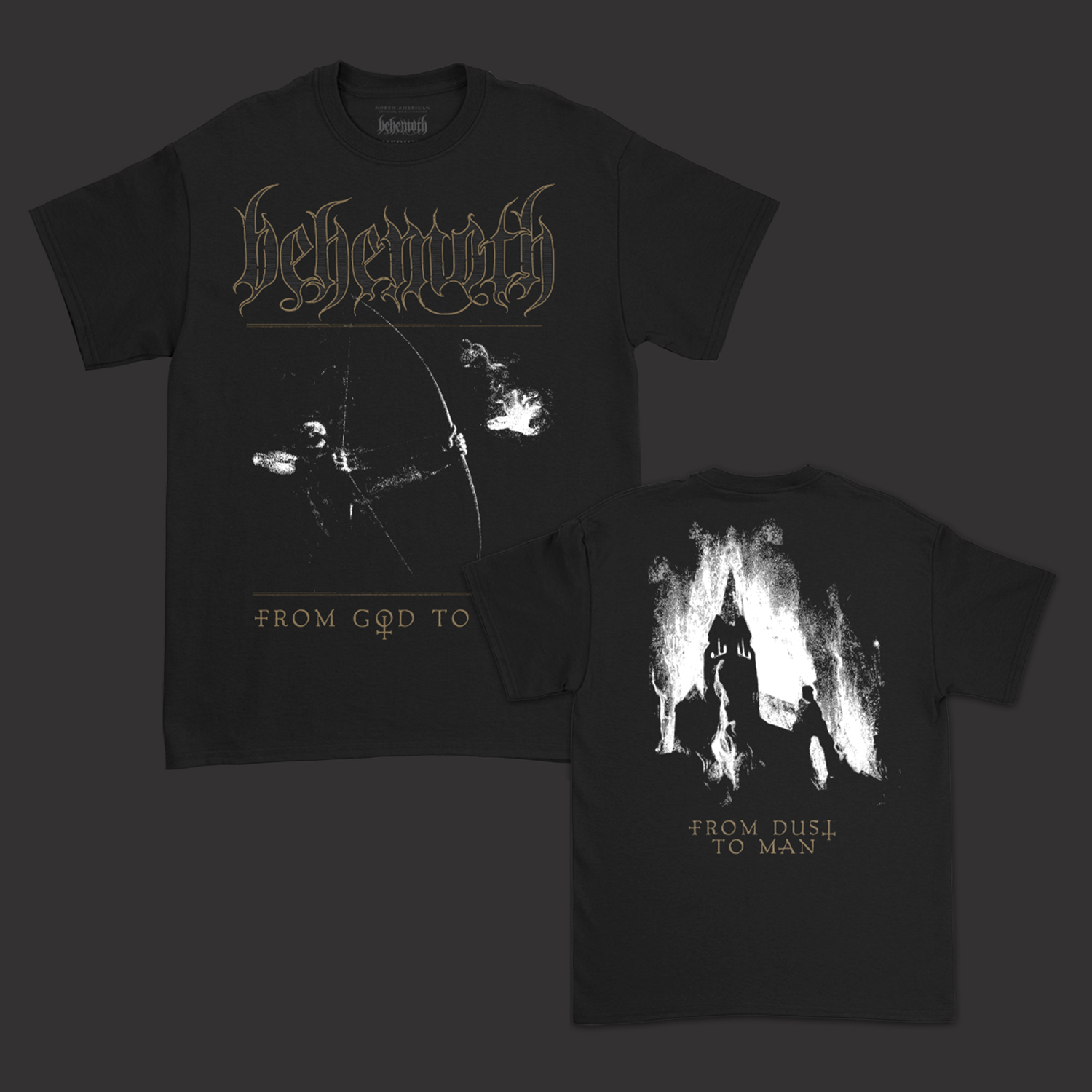 IMAGE   From God To Ash T-Shirt (Black)