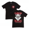 IMAGE | Violent Gentlemen Wolves T-Shirt (Black) - detail 1