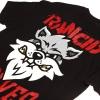 IMAGE | Violent Gentlemen Wolves T-Shirt (Black) - detail 3