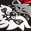 IMAGE | Violent Gentlemen Wolves Hockey Jersey (Black) - detail 3