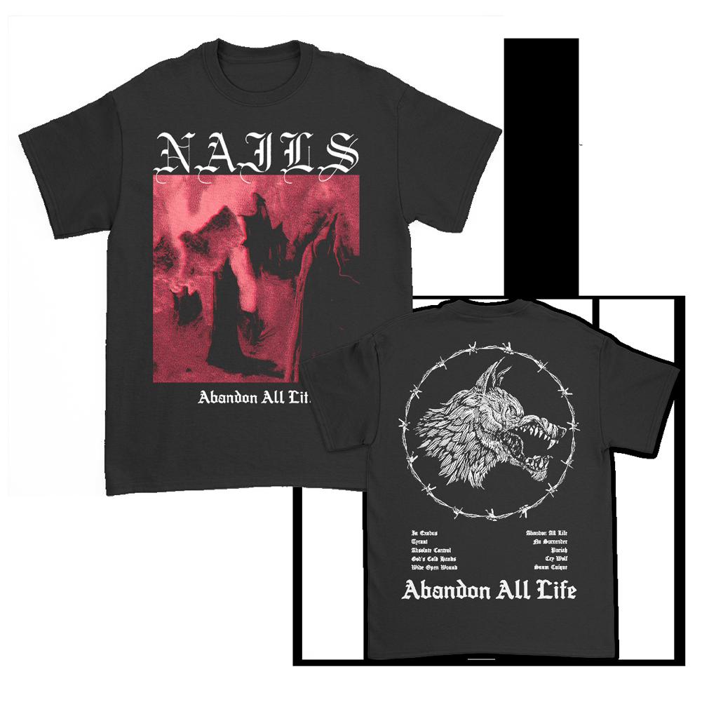 IMAGE   Abandon All Life T-Shirt (Black)