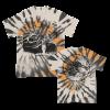 IMAGE | Unsilent Death Ltd. Dye T-Shirt (Sand/Black/Orange - detail 1