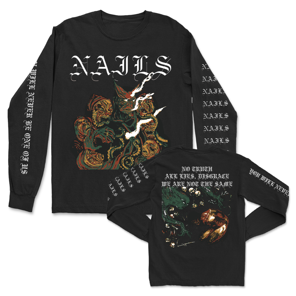 IMAGE   You Will Never Be One Of Us Long Sleeve (Black)