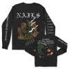 IMAGE   You Will Never Be One Of Us Long Sleeve (Black) - detail 1
