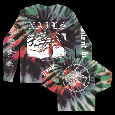 IMAGE | Unsilent Death Ltd. Dye Long Sleeve (Black/Red/Gre