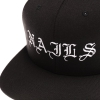 IMAGE   Embroidered Logo Snapback Hat - detail 2