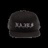 IMAGE   Embroidered Logo Snapback Hat - detail 1