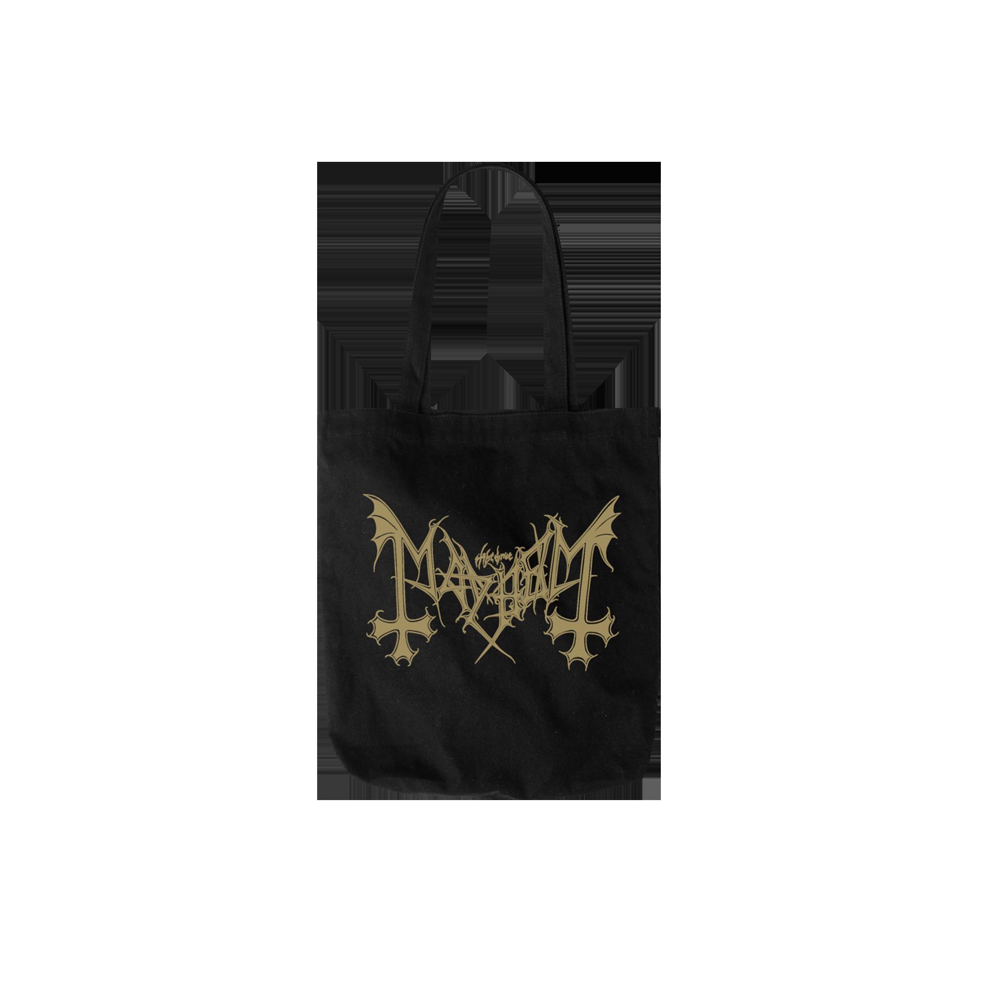 IMAGE | Gold Logo Tote Bag (Black)